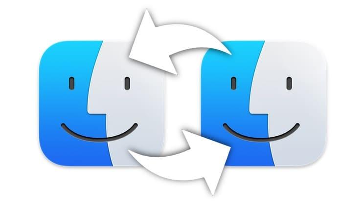 Как передать файлы с Mac на Mac