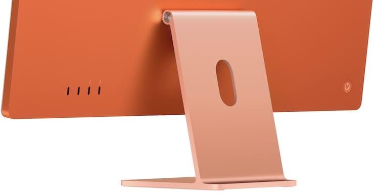 Задняя панель iMac 2021