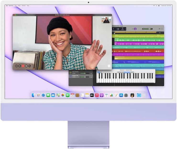 Производительность iMac 2021