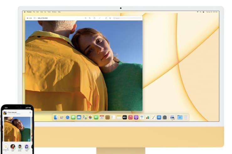 AirDrop на iMac