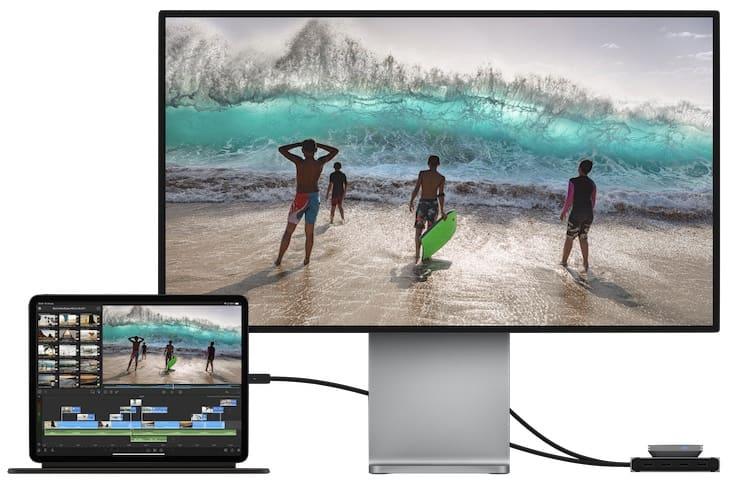 Подключение iPad Pro