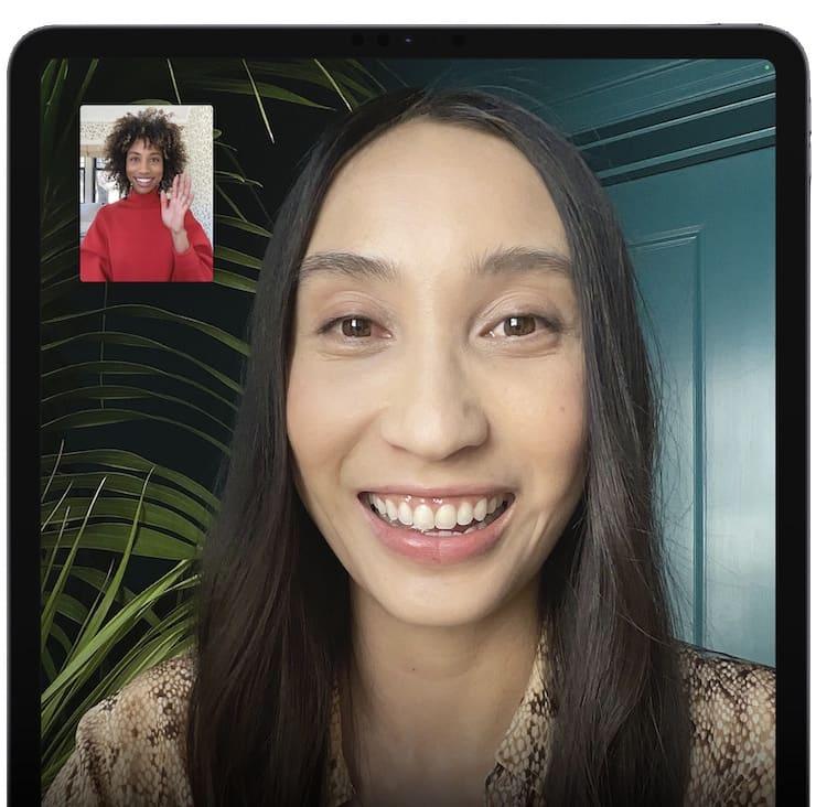 Фронтальная камера iPad Pro