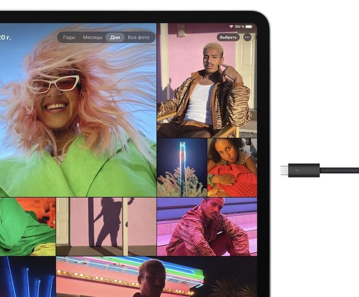 USB-C в iPad Pro 2021