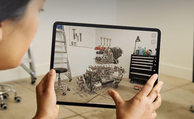 Виртуальная реальность на iPad Pro