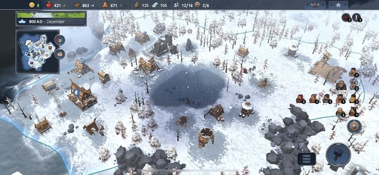 Обзор игры Northgard для iOS: Стройте. Выживайте. Побеждайте