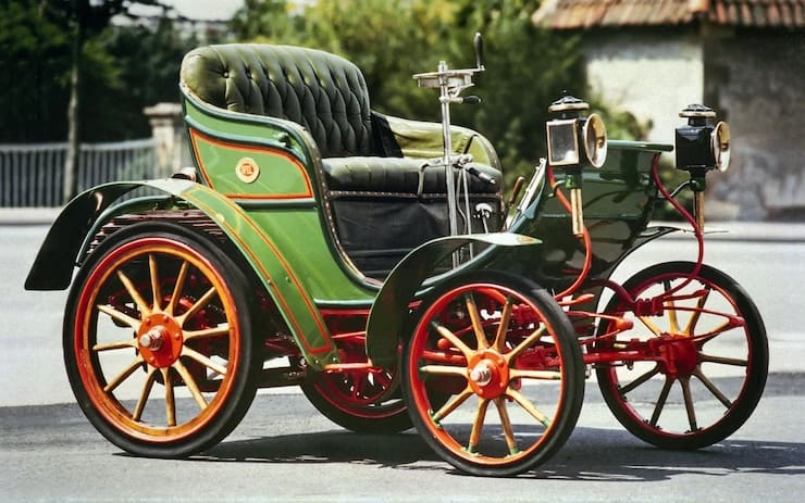 Opel Patentmotorwagen System Lutzmann (1899)