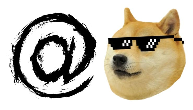Откуда в e-mail появился символ @ (собака)?