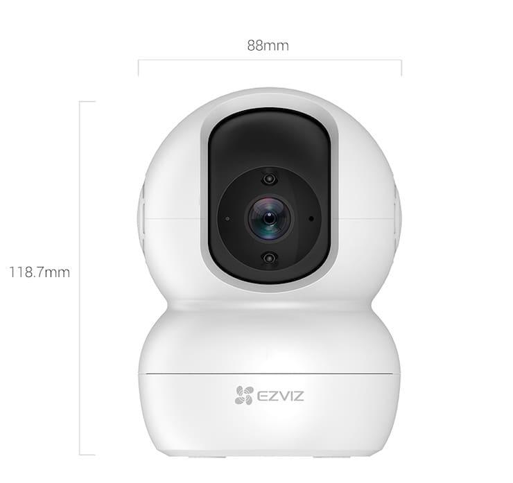 Размер камеры EZVIZ TY2