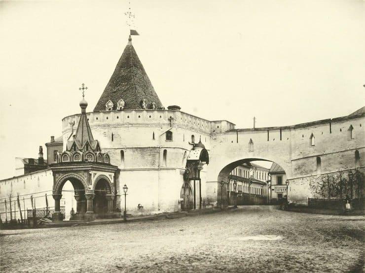 Kitay-gorod in Moscow