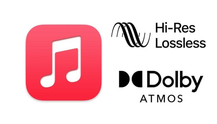Lossless (FLAC) и Dolby Atmos в Apple Music