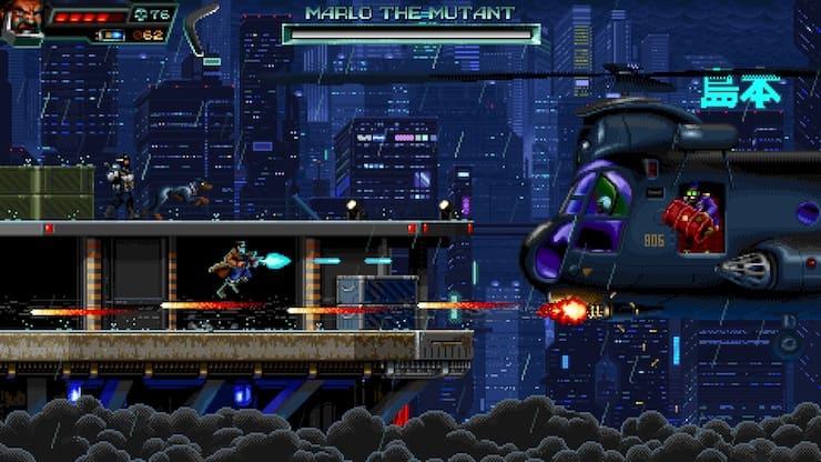 Retro shooter Huntdown review
