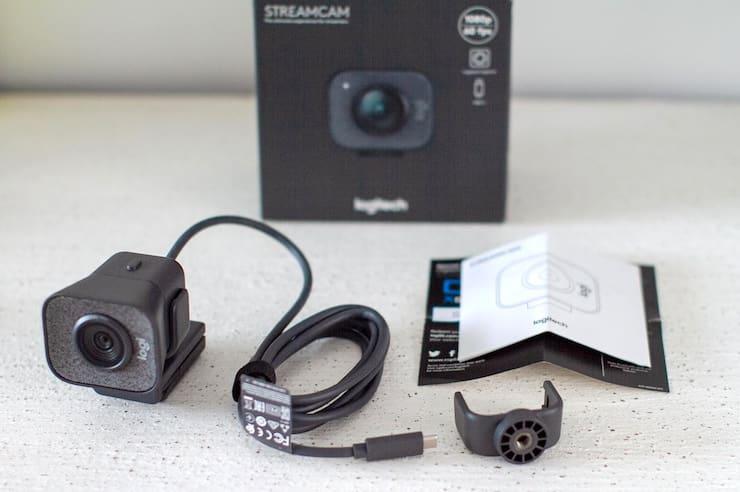 Внешний вид камеры Logitech StreamCam
