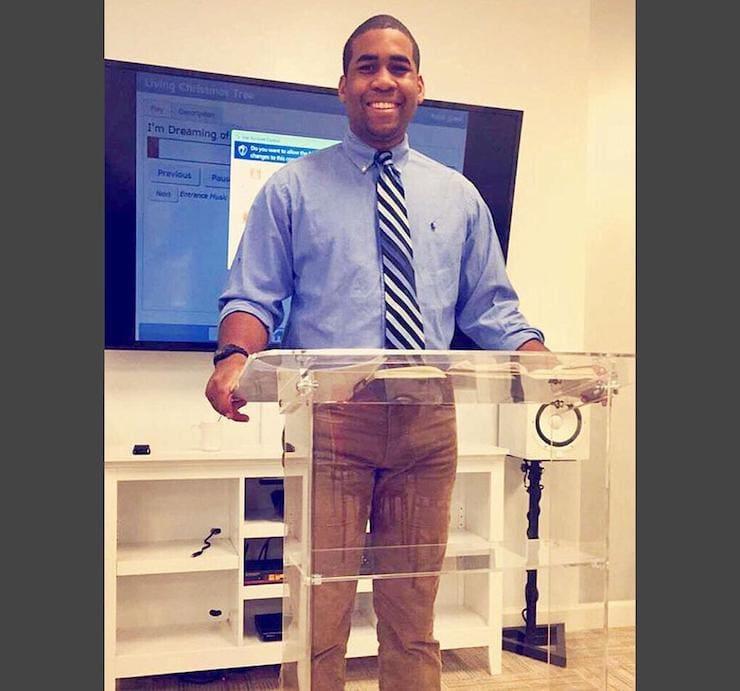 Оратор намочил штаны