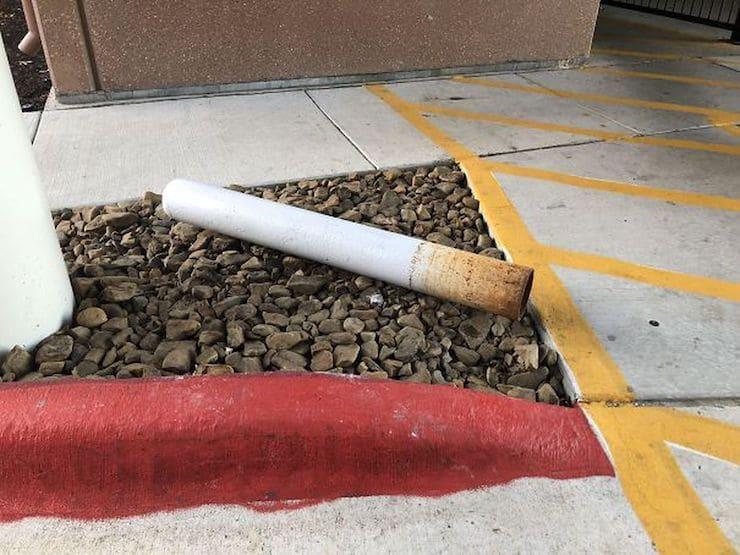 Сигарета не земле