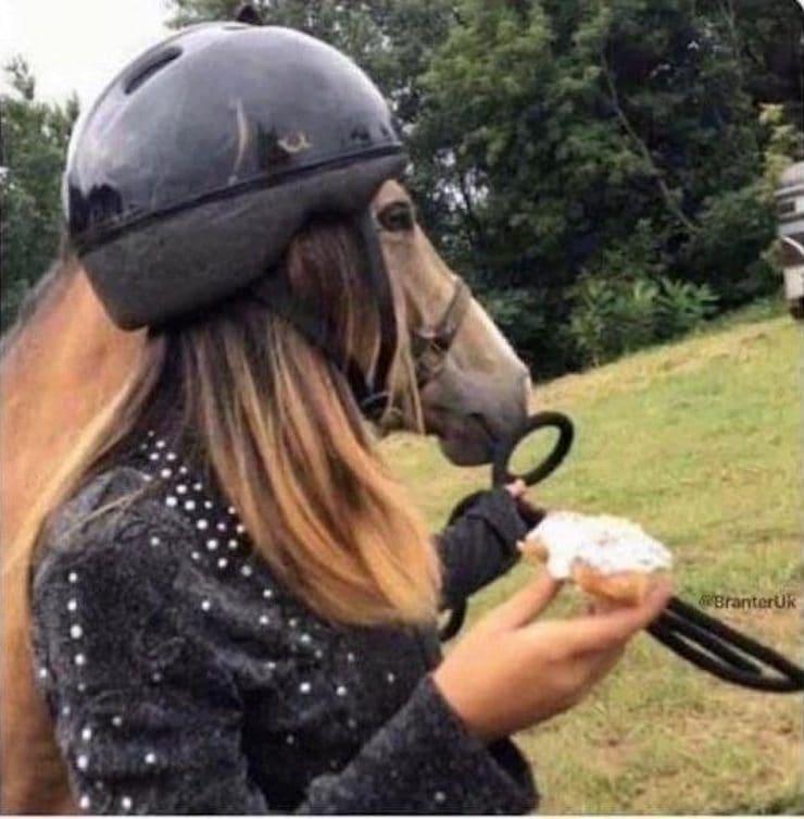Женщина-лошадь