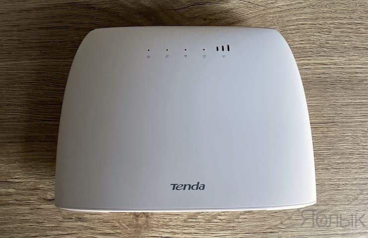 Дизайн Tenda 4G03