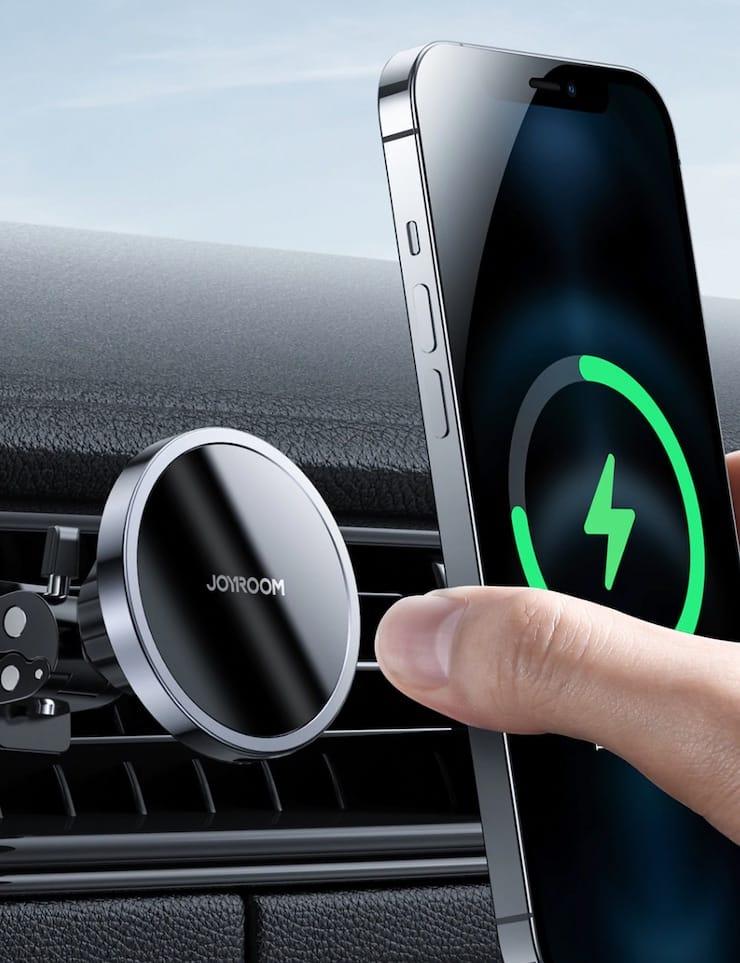 Автомобильный магнитный держатель для смартфонов