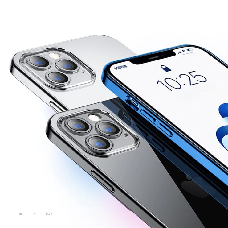 Качественный силиконовый чехол для iPhone