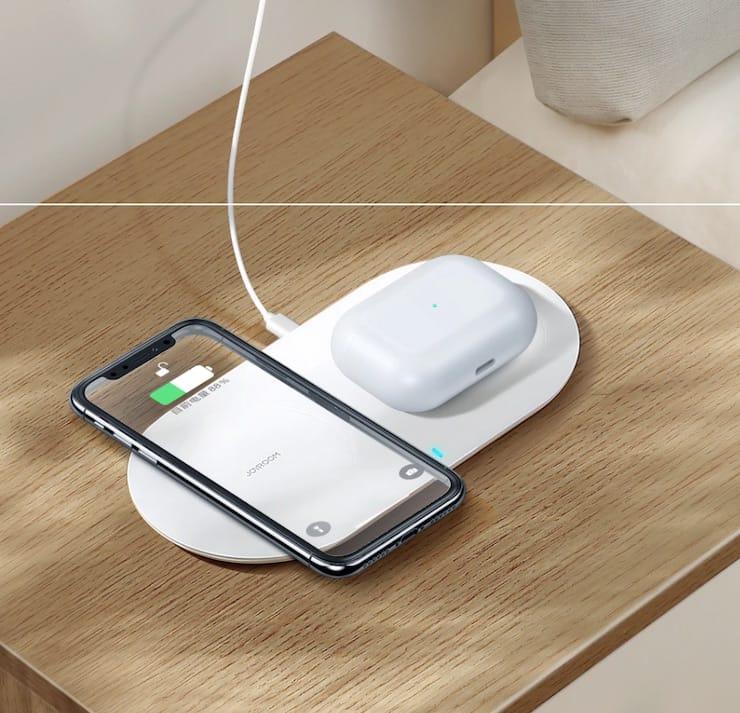 Беспроводная зарядка для IPhone и AirPods