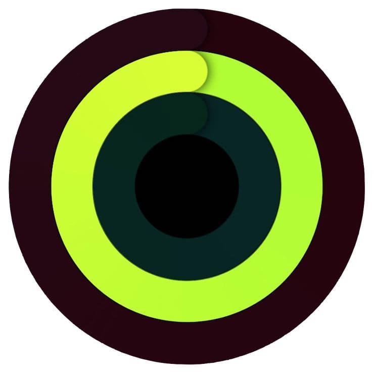 Как закрыть кольцо «Упражнения»?