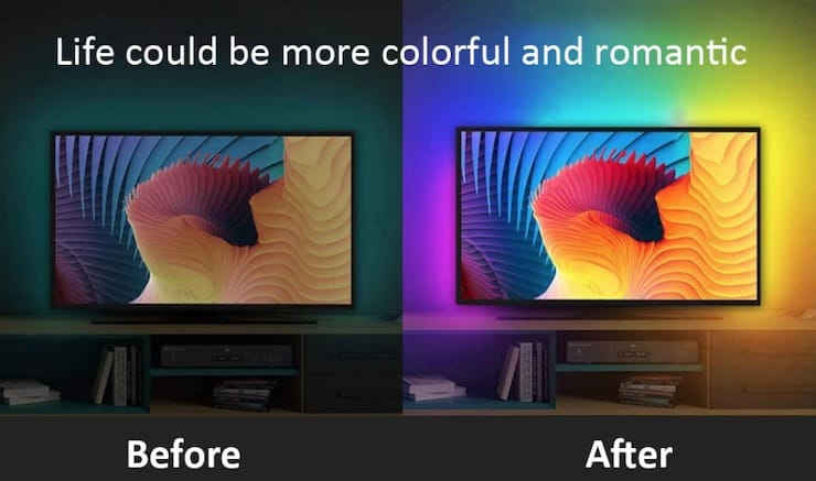 Подсветка для телевизора