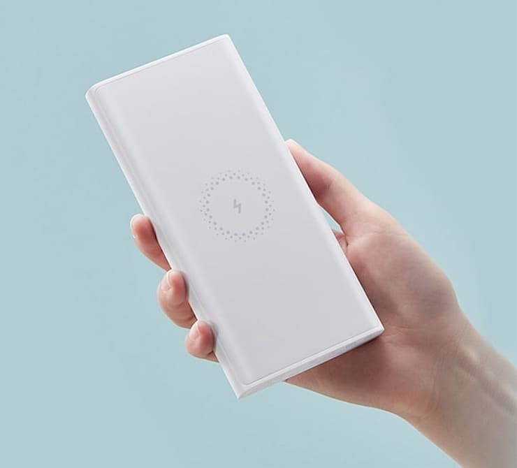 Xiaomi Mi Power Bank 10 000 мАч с возможностью беспроводной зарядки