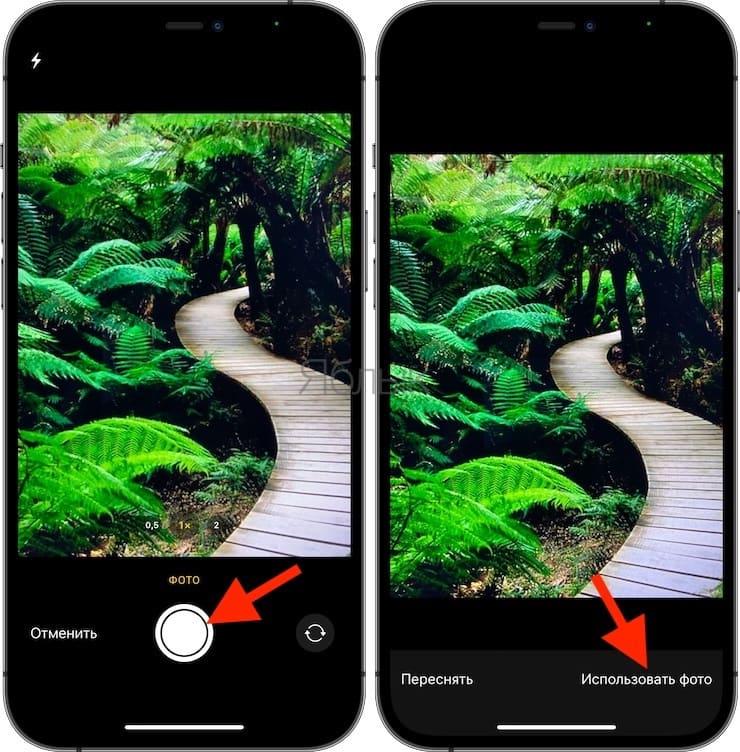 Как фотографировать на Mac с помощью камеры iPhone