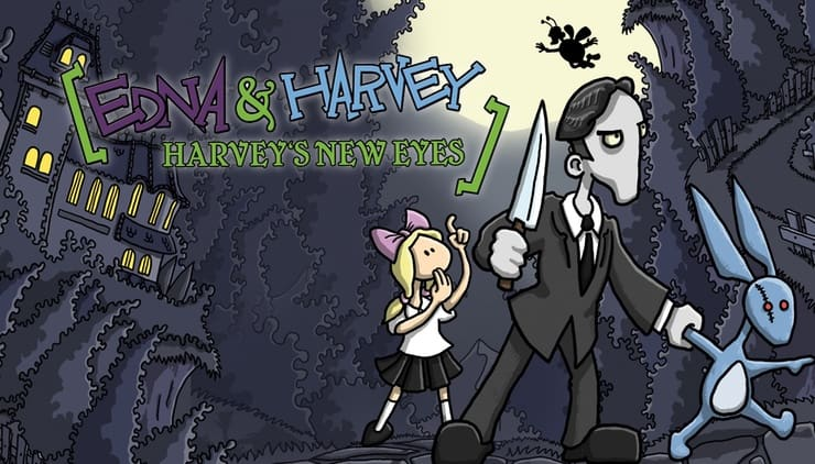Обзор игры Edna & Harvey: Harvey's New Eyes