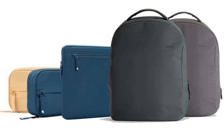 Аксессуары Incase для пользователя MacBook: чехлы, сумки и рюкзаки из регенерированного океанского пластика