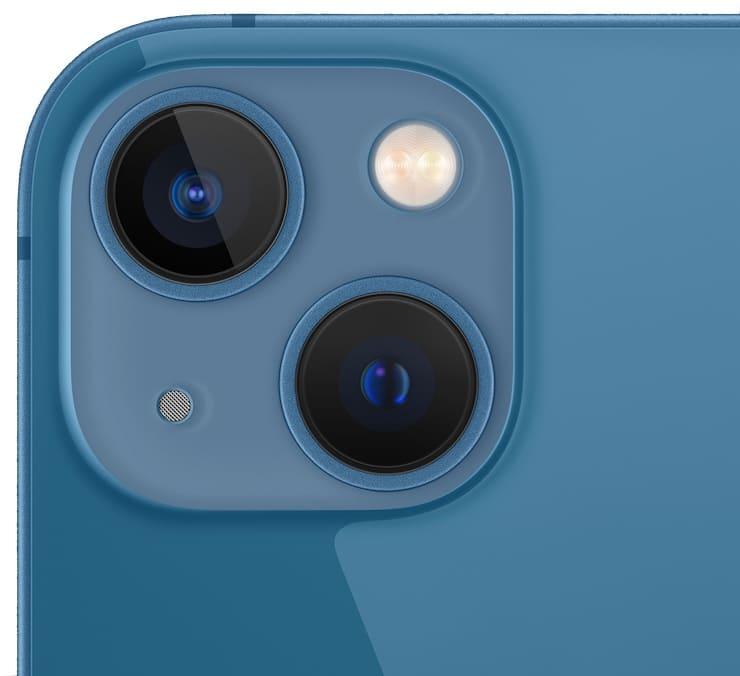 Камеры в iPhone 13 и iPhone 13 mini