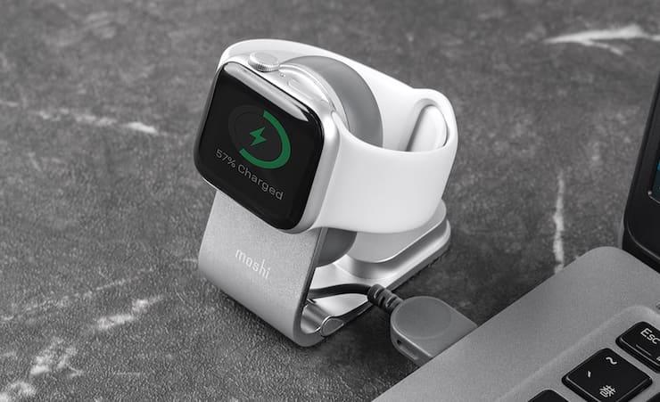 Moshi Flekto миниатюрная зарядка для Apple Watch