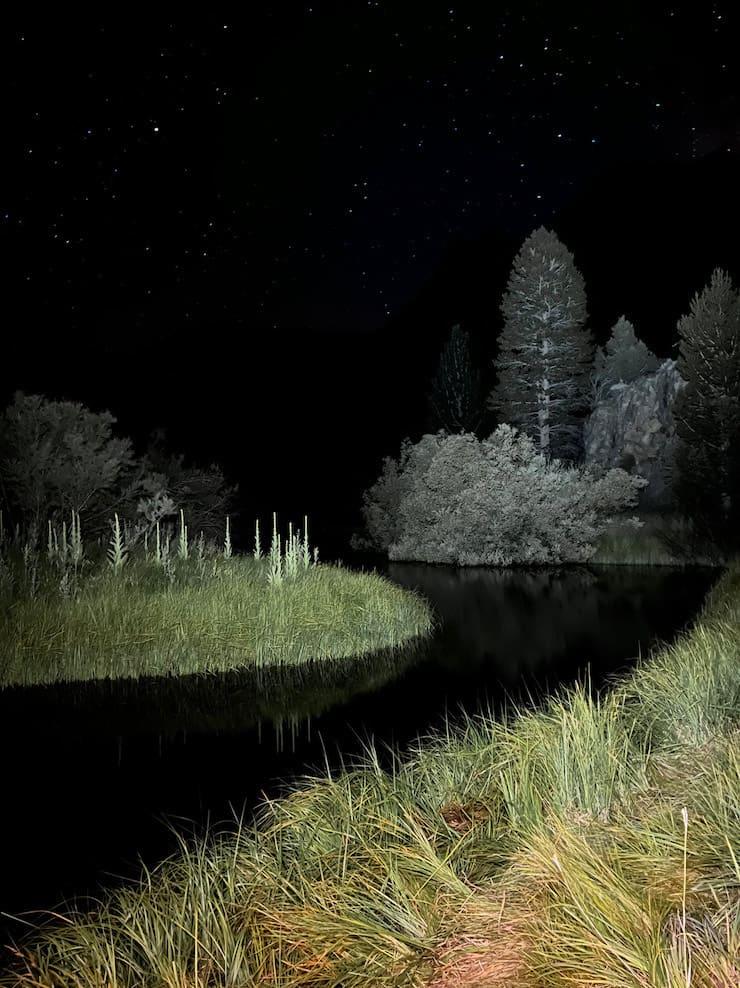 Ночной режим на iPhone 13 Pro