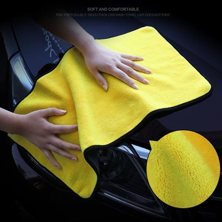 Тряпка для мытья машины