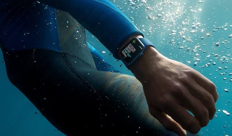 Водонепроницаемость Apple Watch Series 7