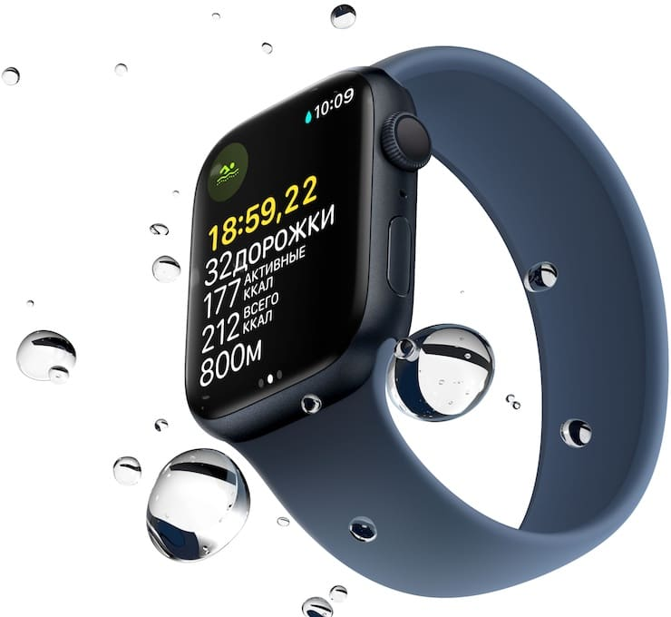 Apple Watch Series 7 water resistance