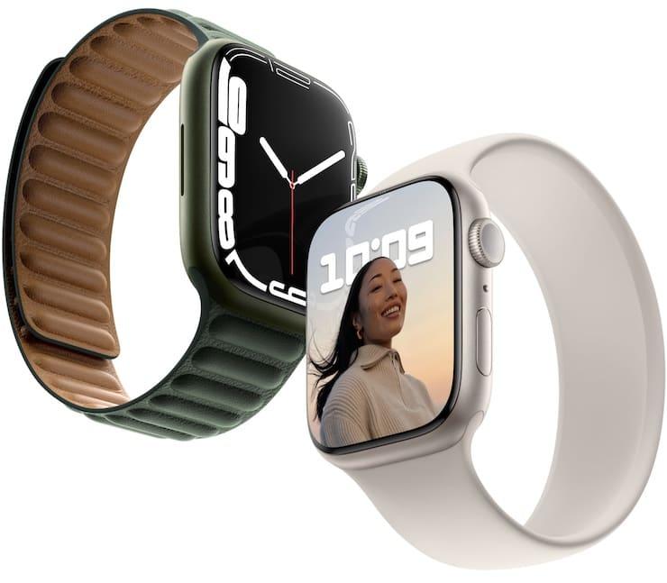 Apple Watch Series 7 display