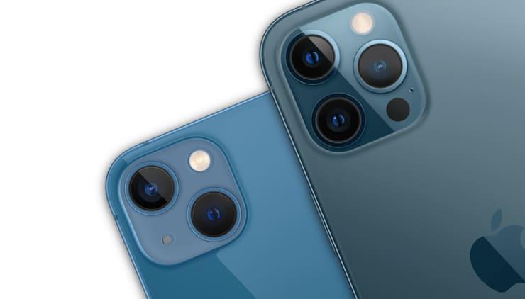 Сравнение iPhone 13 и iPhone 12 Pro (12 Pro Max)