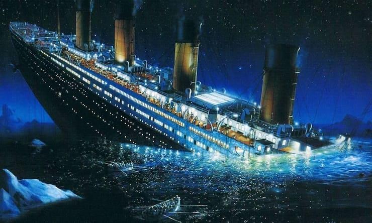 Где затонул «Титаник»: координаты на картах Яндекса и Google?