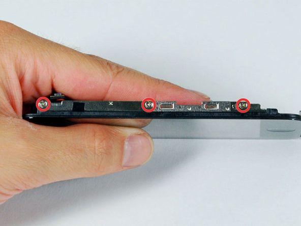 Как заменить крышку на iphone 3gs