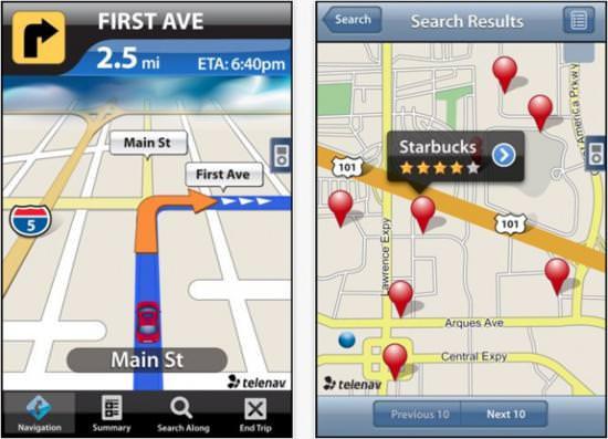 бесплатный gps навигатор для iphone - фото 10