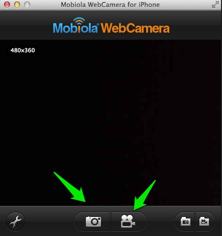 Mobiola webcam for iphone